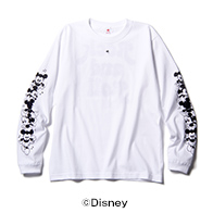 CHIP 'N' DALE / ROCK AND ROLL LONG SLEEVE T